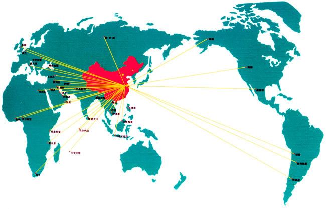海峰国内销售网络图
